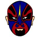 Dibujo Luchador pintado por kane