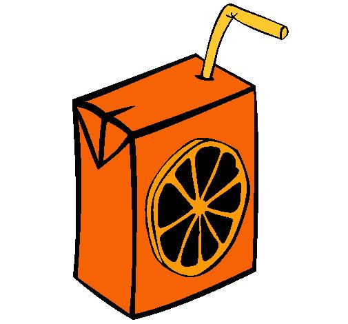 Dibujo de Zumo de naranja pintado por Jugo en Dibujosnet el da