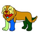 Dibujo Perro pigmento pintado por macapaca