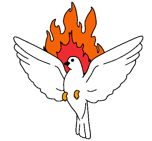 Dibujo de paloma pentecostal pintado por carlos en dibujos - Colombe en dessin ...