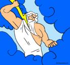 Dibujo Dios Zeus pintado por ZEUS