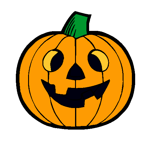 Resultado de imagen de calabaza halloween dibujos