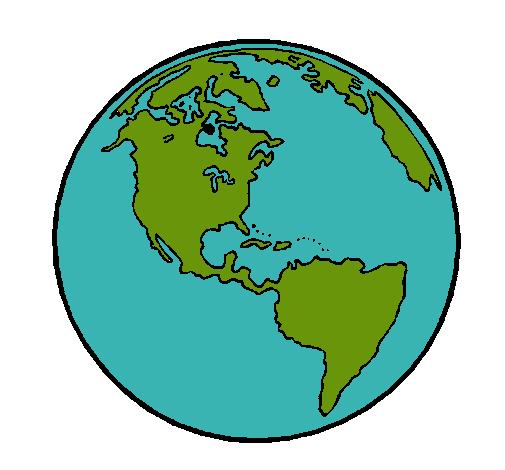 Dibujo de Planeta Tierra pintado por Junkal en Dibujos.net el día ...