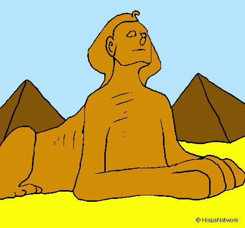 Dibujo de Esfinge pintado por Egipto en Dibujos.net el día 02-12 ...