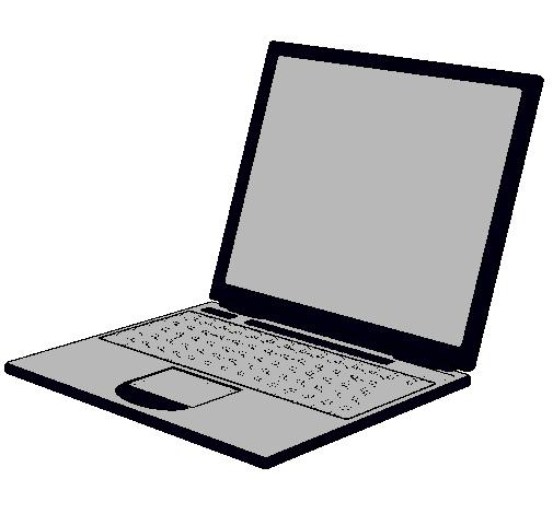 Dibujo de ordenador port til pintado por superflopy en - Mesa de dibujo portatil ...