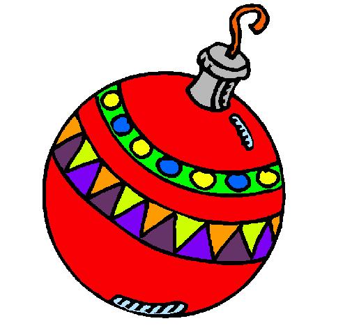 Dibujo de bola de navidad pintado por delia en - Bolas gigantes de navidad ...