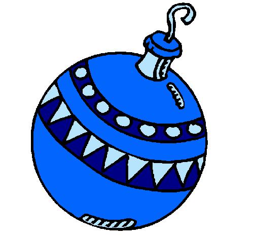 Dibujo de bola de navidad pintado por mireia20 en dibujos for Dibujo bola navidad
