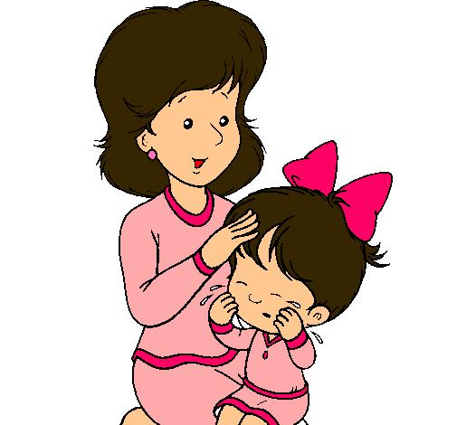 Dibujo de Madre pintado por Mama en Dibujosnet el da 051210 a