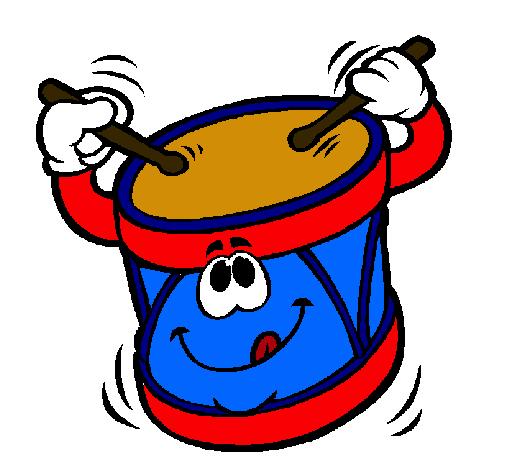 Dibujo de tambor pintado por ggrr en el d a 08 - Dibujos infantiles para imprimir pintados ...
