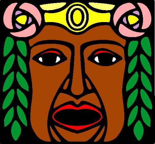 Mayas Mascaras de Jade Máscara Maya