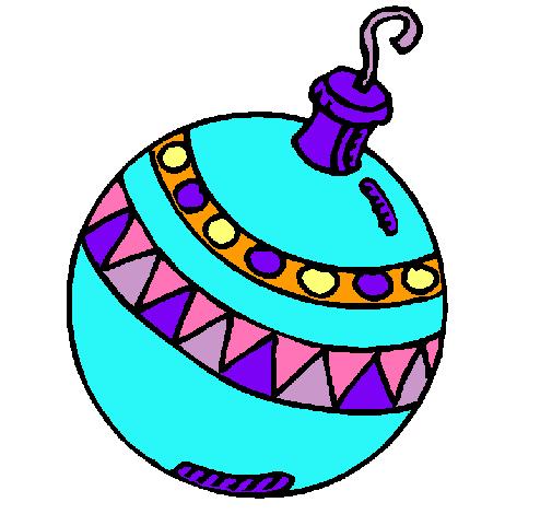 Dibujo de bola de navidad pintado por anacleta1 en dibujos for Dibujo bola navidad