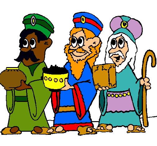 Dibujo de Los Reyes Magos pintado por Charli13 en Dibujosnet el