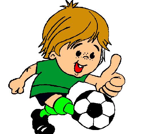 Dibujo de Chico jugando a fútbol pintado por Candeliita en Dibujos ...