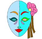 Dibujo Máscara italiana pintado por deesq