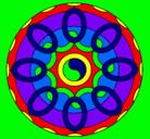 Dibujo Mandala 26 pintado por Victorious