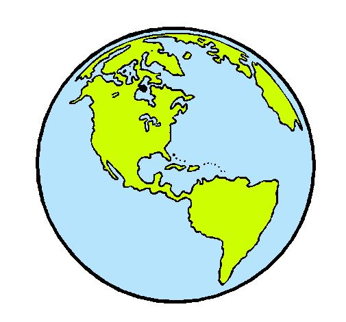 Dibujo de Planeta Tierra pintado por Saioa en Dibujos.net el día ...