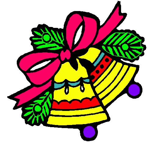 Dibujo de campanas de navidad pintado por mkmmm en dibujos - Dibujos de navidad en color ...