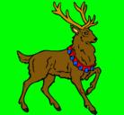 Dibujo Ciervo pintado por Victorious