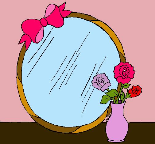 Dibujo de espejo pintado por espegismooooooo en dibujos - Dibujos para espejos ...