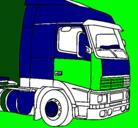 Dibujo Camión pintado por Victorious