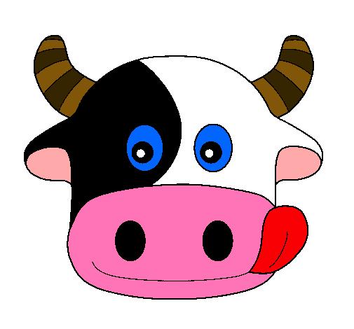 Dibujo de Vaca pintado por Vaca en Dibujos.net el día 08-01-11 a ...