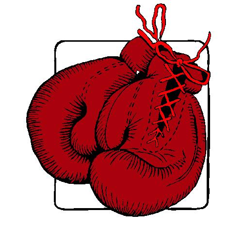 dibujo de guantes de boxeo pintado por bentenmj en dibujos net el