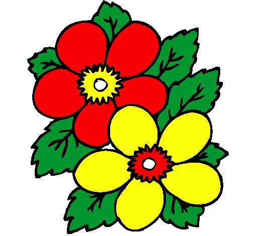 Dibujo de Flores pintado por Yada en Dibujosnet el da 130111 a