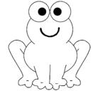 Dibujo Rana sonriente pintado por totijackye