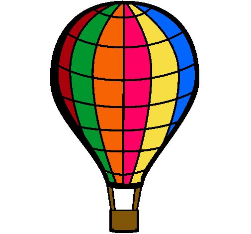 Dibujo de Globo aerosttico pintado por Alejandra17 en Dibujosnet