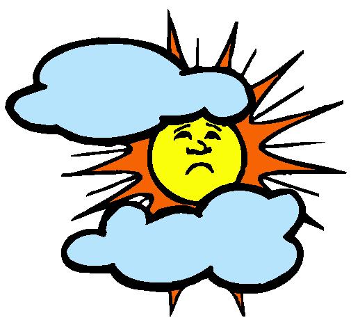 Dibujo de Sol y nubes pintado por Lululu en Dibujosnet el da 25