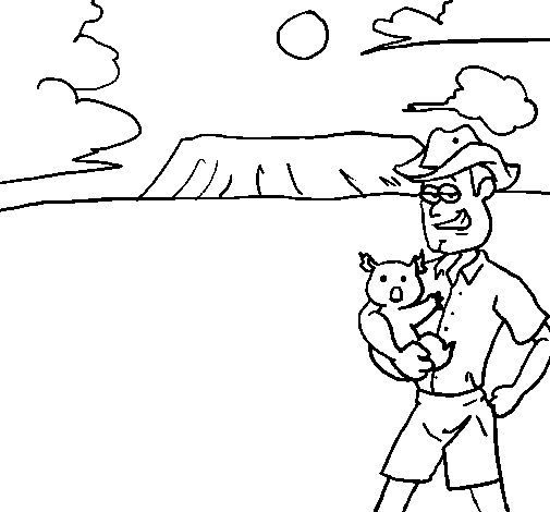 Dibujos de australia - Imagui