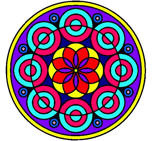 mandalas coloreados y pintados imagui On dibujos mandalas coloreados