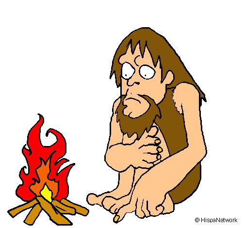 Dibujo de Descubrimiento del fuego pintado por Nnaa en Dibujosnet