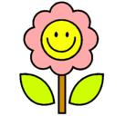 Dibujo Flor 2 pintado por florencia