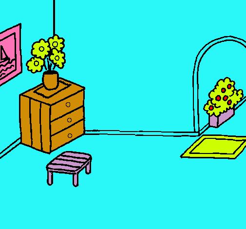 Dibujo De Casa Por Dentro Pintado Por Juanse1562 En