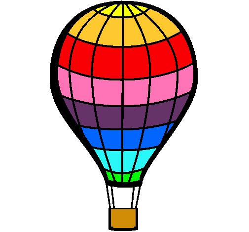 Dibujo de globo aerost tico pintado por andrea12 en - Globos aerostaticos infantiles ...