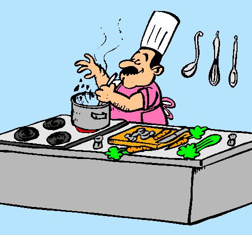 Imagen animada de un cocinero imagui for Cocinar imagenes animadas