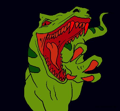 Dibujo de Velociraptor II pintado por Mito en Dibujos.net el día ...