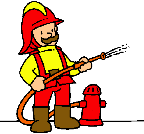 Worksheet. Dibujo de Bombero pintado por Bombero en Dibujosnet el da 2202