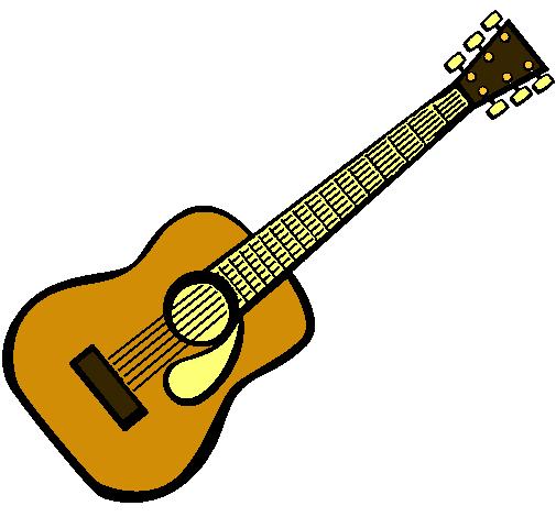 Dibujo de Guitarra española II pintado por Guitarra en Dibujos.net ...