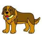 Dibujo Perro pigmento pintado por Flaquita618