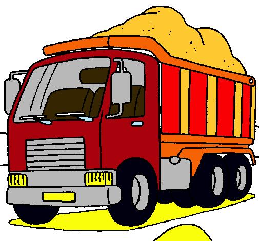 Dibujo de Camión de carga pintado por Walter en Dibujos.net el día ...