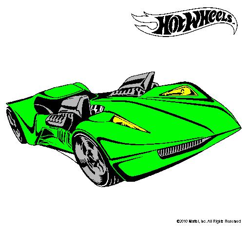 Dibujo de Hot Wheels 4 pintado por Auto en Dibujosnet el da 05