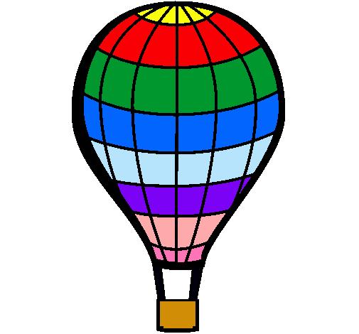 Dibujo de Globo aerosttico pintado por Globo en Dibujosnet el