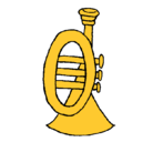 Dibujo Trompeta pintado por itsel