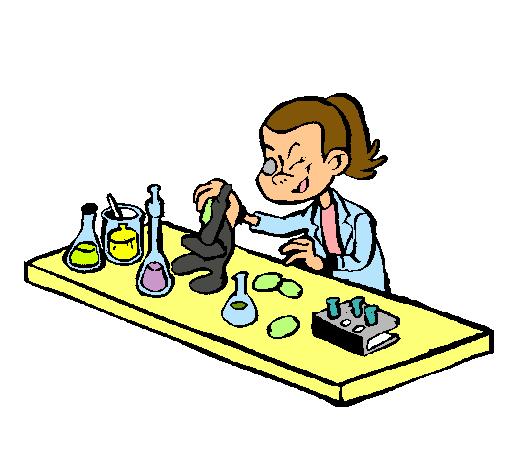Dibujo de Tcnico de laboratorio pintado por Cientifica en Dibujos