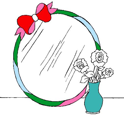 Espejo Dibujo Infantil Imagui