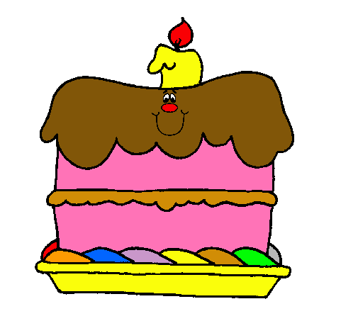 Resultado de imagen de dibujo pastel cumpleaños 1 año