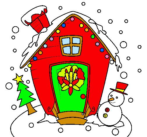 Free download dibujo casa de navidad - Una casa para navidad ...