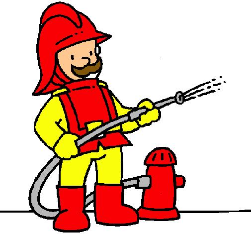 Dibujo de Bombero pintado por Bombero en Dibujos.net el día 01-04-11